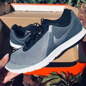 Brand New NIKE Black and Grey Sneakers